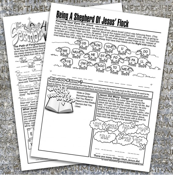 John Chapters 20-21 Booklet
