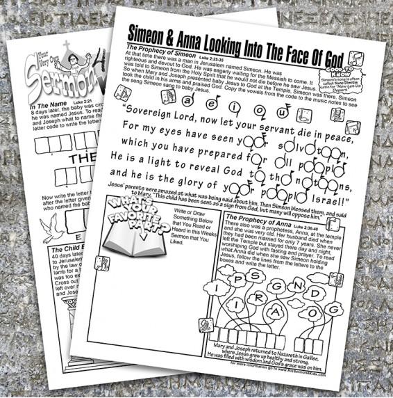 Luke 1-2 Booklet