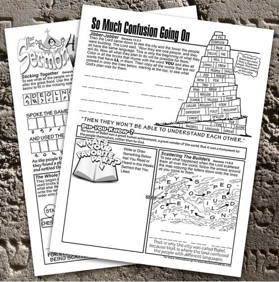 Genesis 11:1-9 - The Tower of Babel